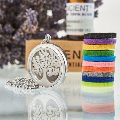 Colares De Aromaterapia - Árvore da Vida 30mm
