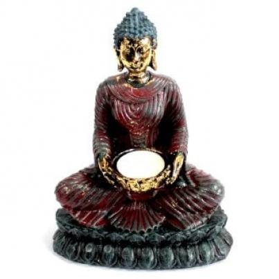 Suporte Velas Buda Antigo - Candeeiro devoto