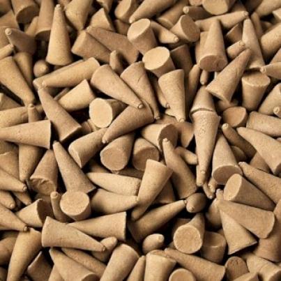 Cones de incenso a Granel - âmbar