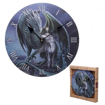 Relógio Lisa Parker - Dragão Mágico Protetor & Unicórnio