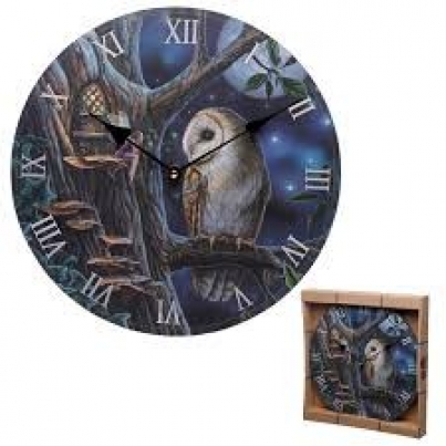Relógio Lisa Parker - Coruja e Fada