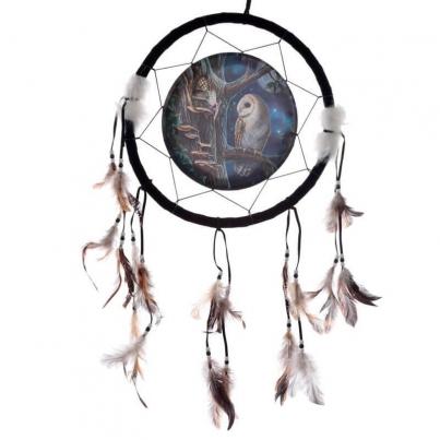 Caça Sonhos Lisa Parker - Coruja e Fada 33cm