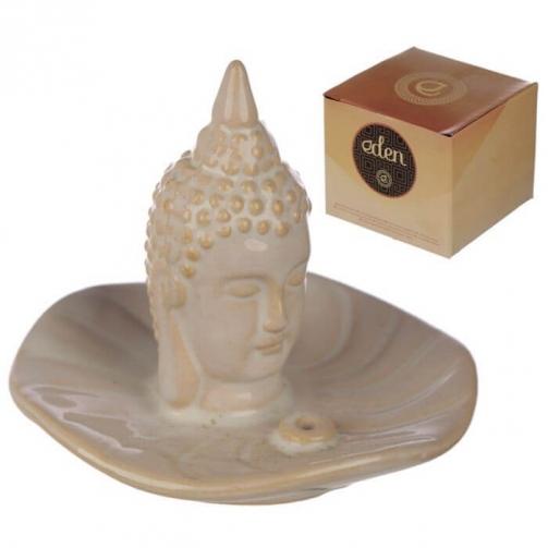 Queimador de Cones de Incenso em Cerâmica Éden e Incenso - Buda