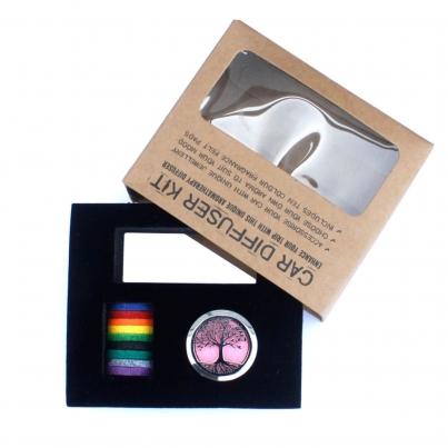 Kit de difusor para carros -Flor da Vida - 30mm