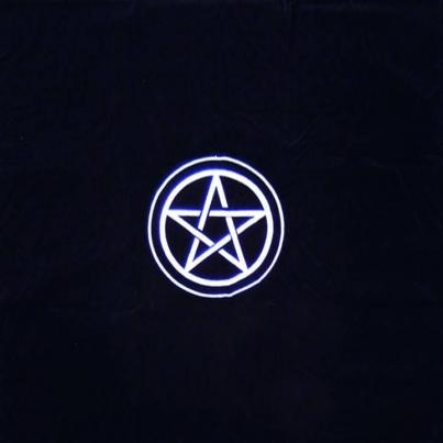 Pano de Lançamento de Tarot - Pentagrama